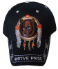 Native Pride Bear in Dream Catcher with Feathers